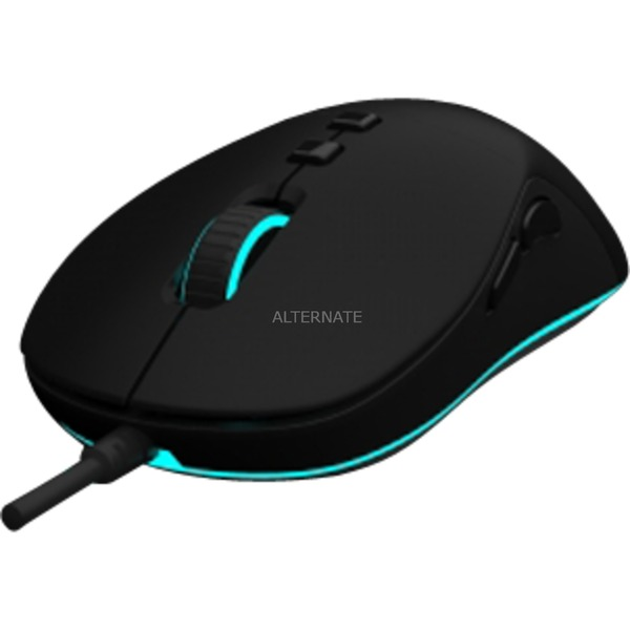 DX-20 ratón USB Óptico Ambidextro