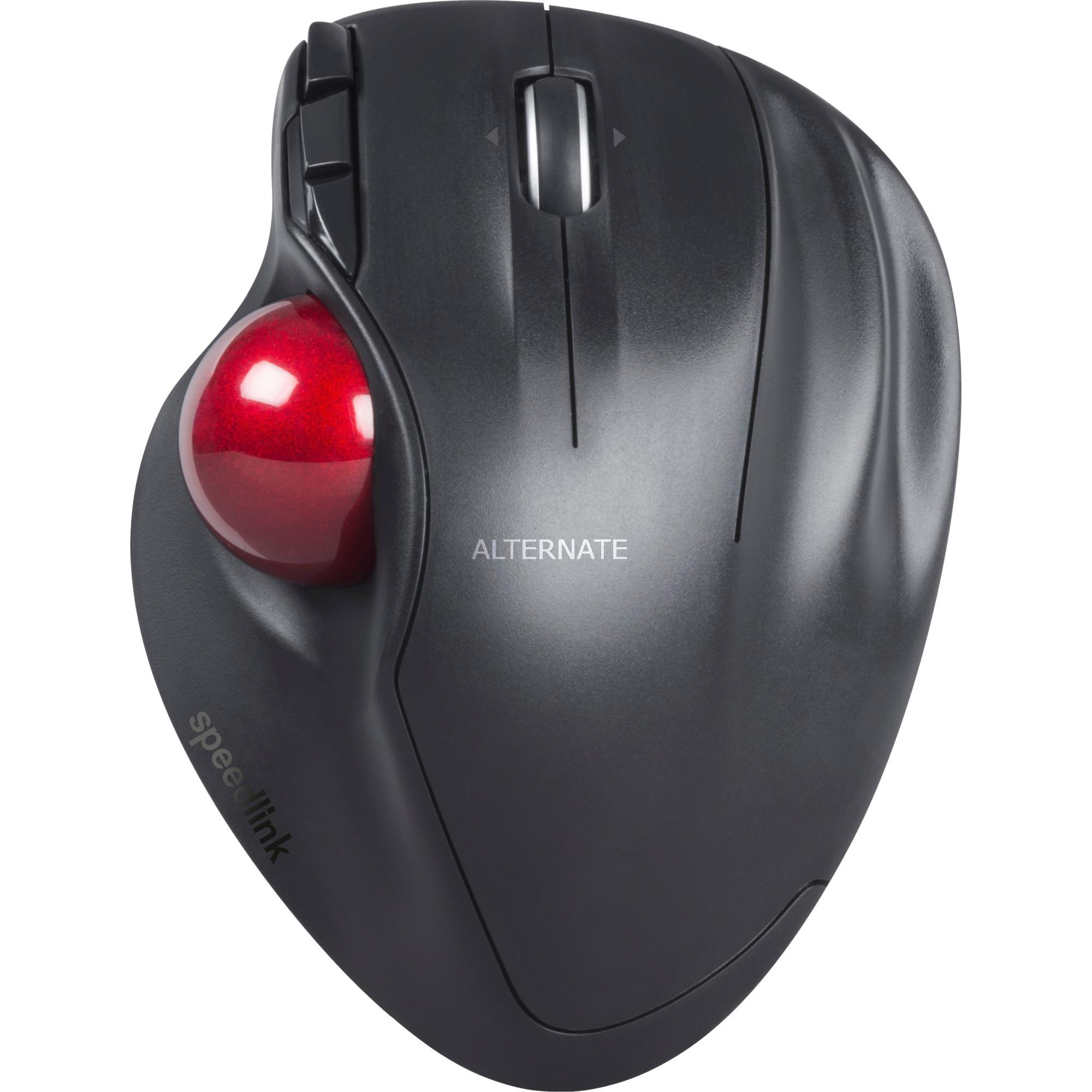 APTICO Bluetooth Negro, Rojo, Trackball