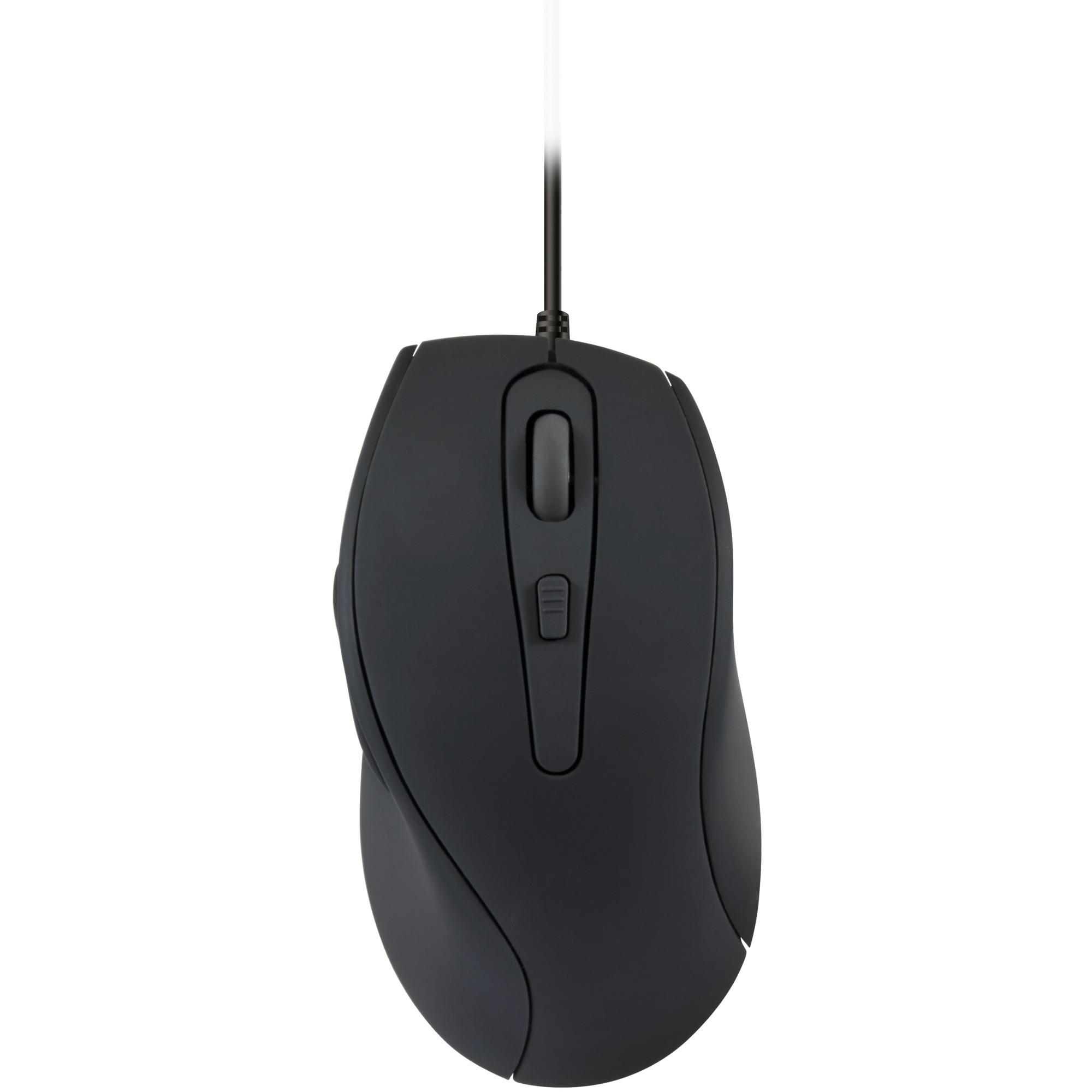 AXON ratón USB Óptico 2400 DPI mano derecha