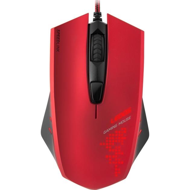 LEDOS Gaming ratón USB Óptico 3000 DPI Ambidextro