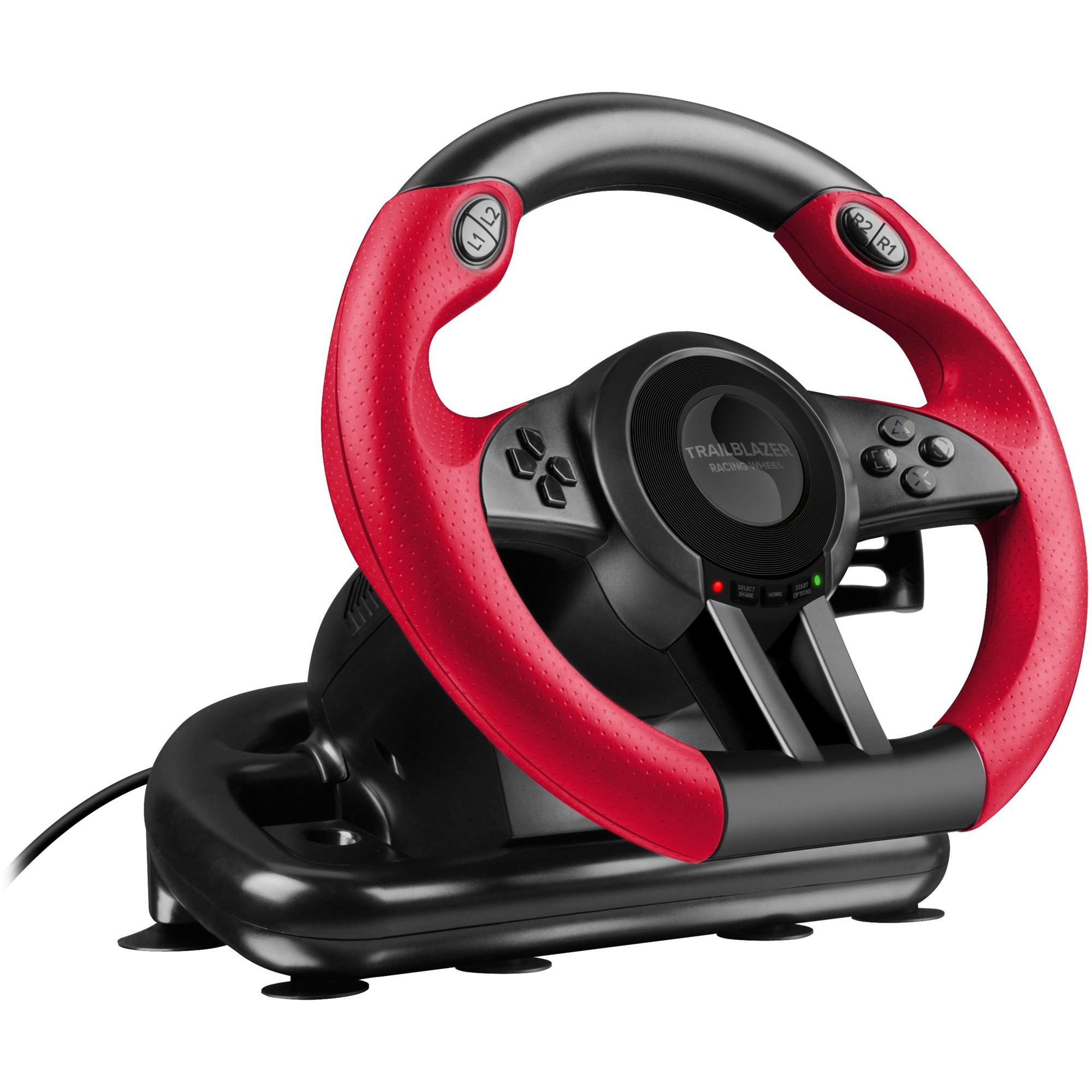SL-450500-BK Volante PC,PlayStation 4,Playstation 3,Xbox One Negro mando y volante