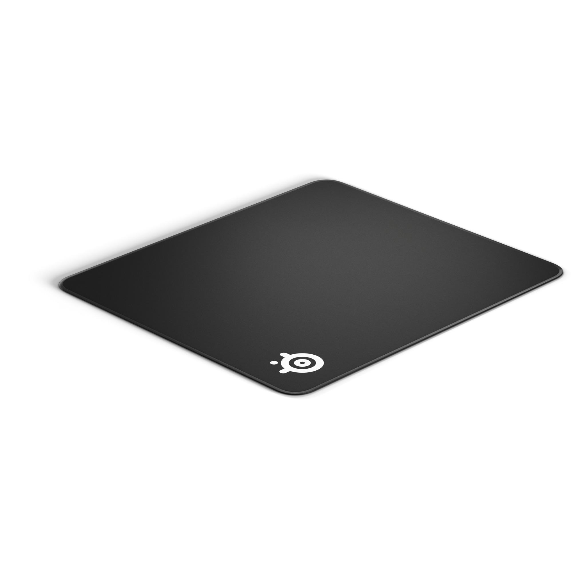 QcK Edge Large Negro Alfombrilla de ratón para juegos, Almohadilla de ratón para juegos