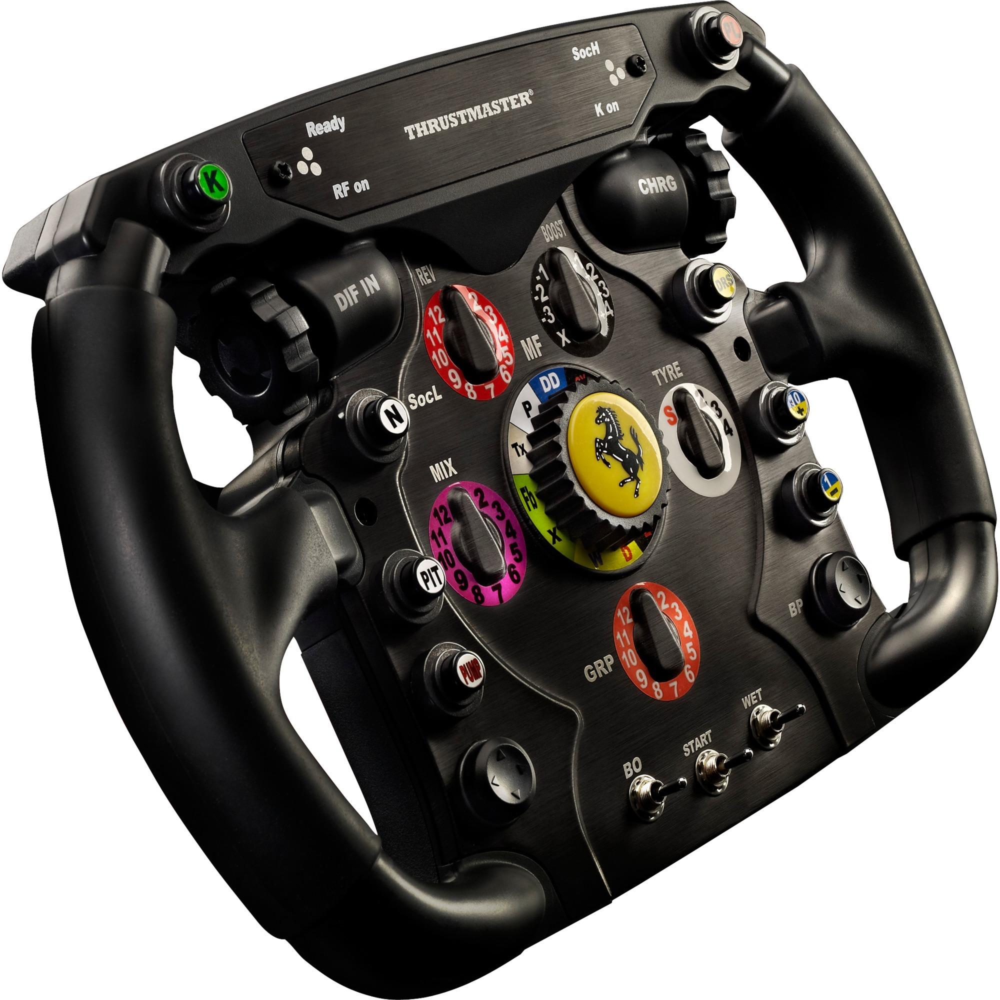 Ferrari F1 Volante PC,Playstation 3 Analógico RF Negro, Volante de recambio