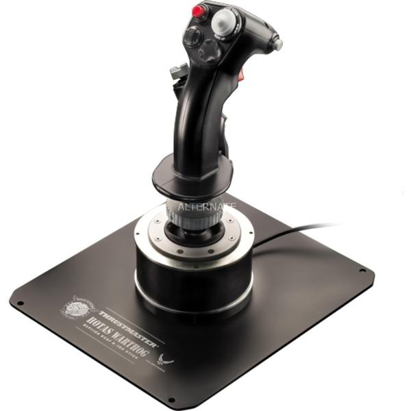 HOTAS Warthog Flight Stick Palanca de mando PC Negro, Hotas (mando más palanca de control)