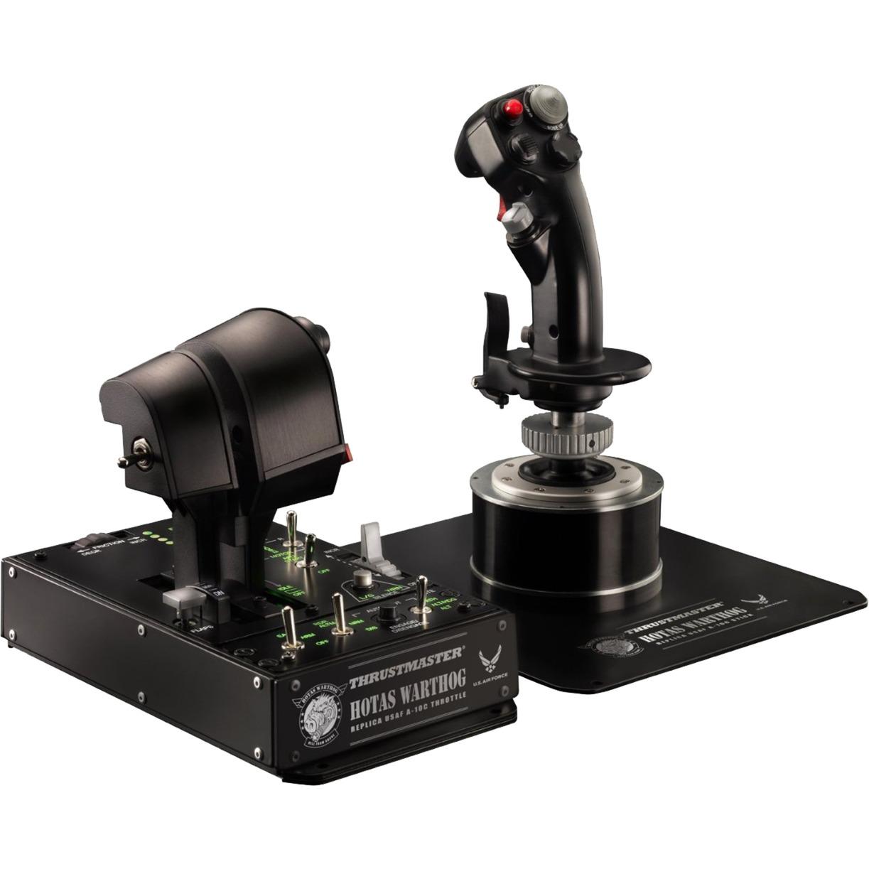 Hotas Warthog Palanca de mando PC, Joystick Negro, Hotas (mando más palanca de control)
