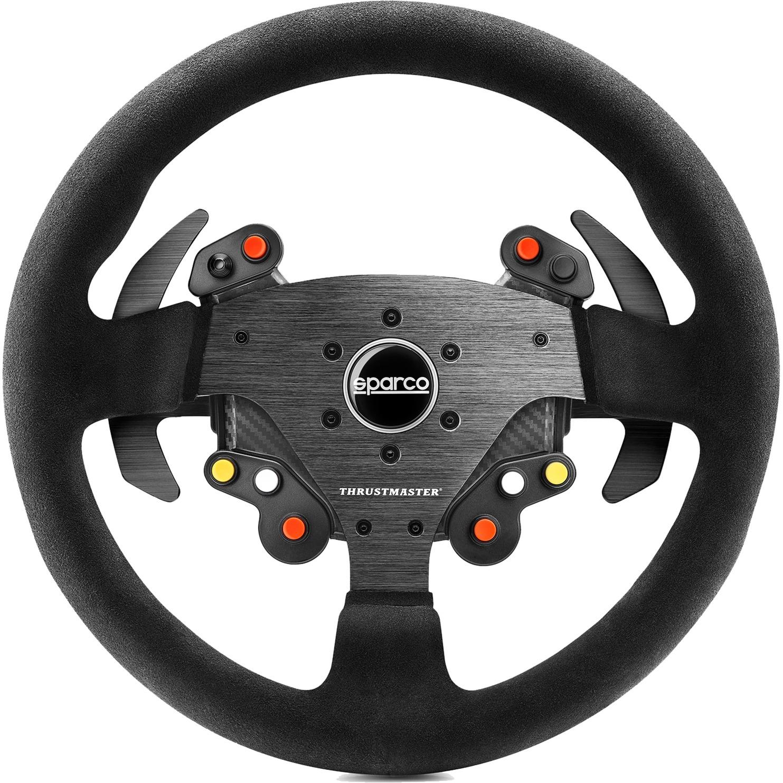 Rally Wheel Add-On Sparco R383 Mod Volante PC,PlayStation 4,Xbox One Analógico Carbono, Volante de recambio