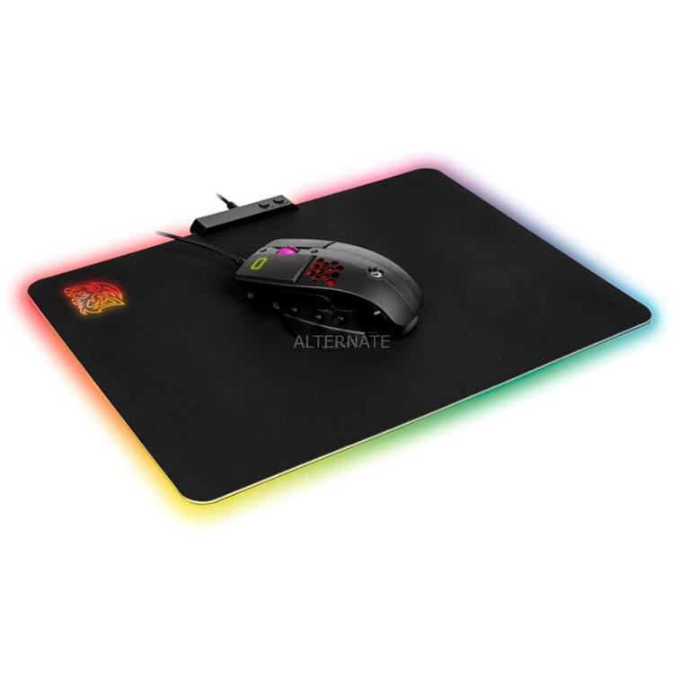 DRACONEM RGB – Cloth Edition Negro Alfombrilla de ratón para juegos
