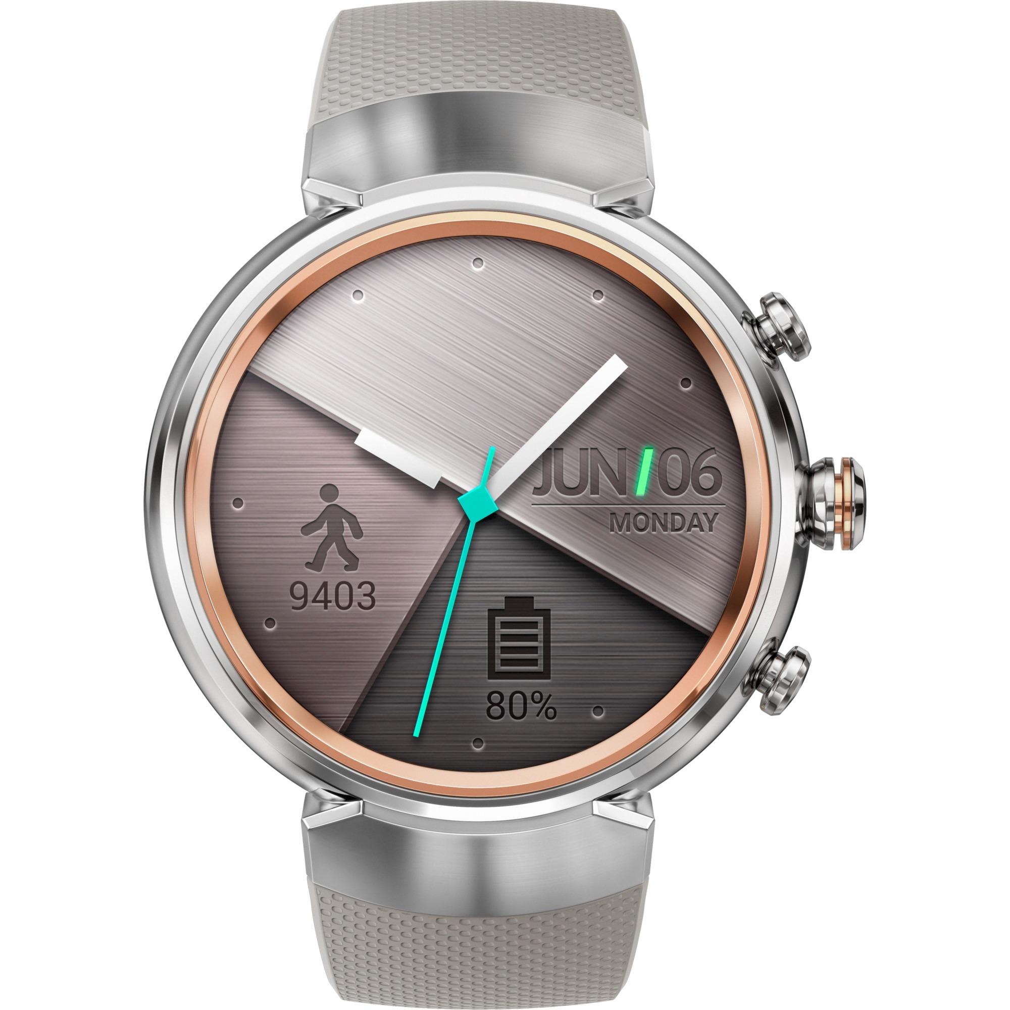 "90NZ0064-M00040 1.39"" AMOLED 80g Plata reloj inteligente, SmartWatch"