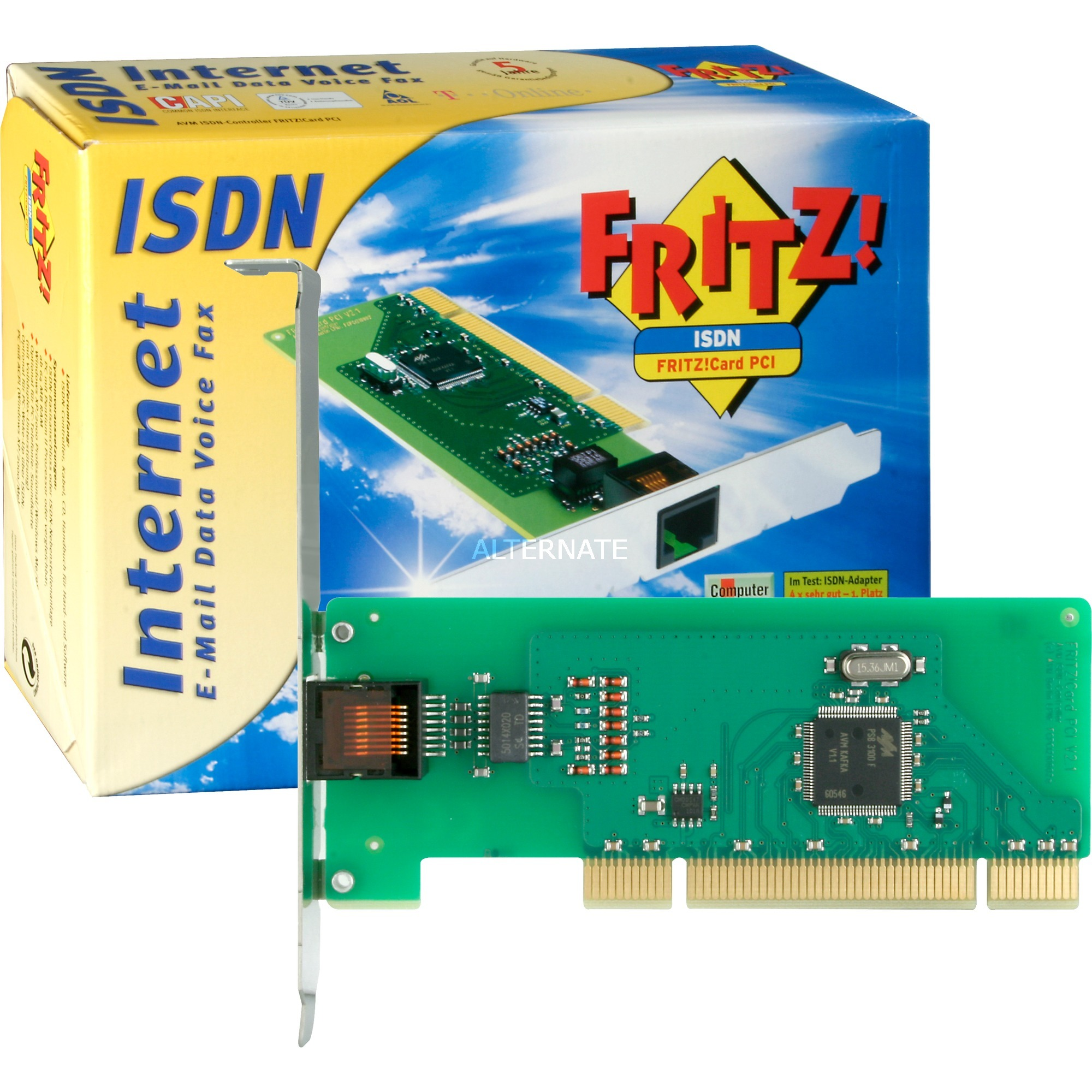 FRITZ!Card PCI dispositivo de acceso RDSI, Módem