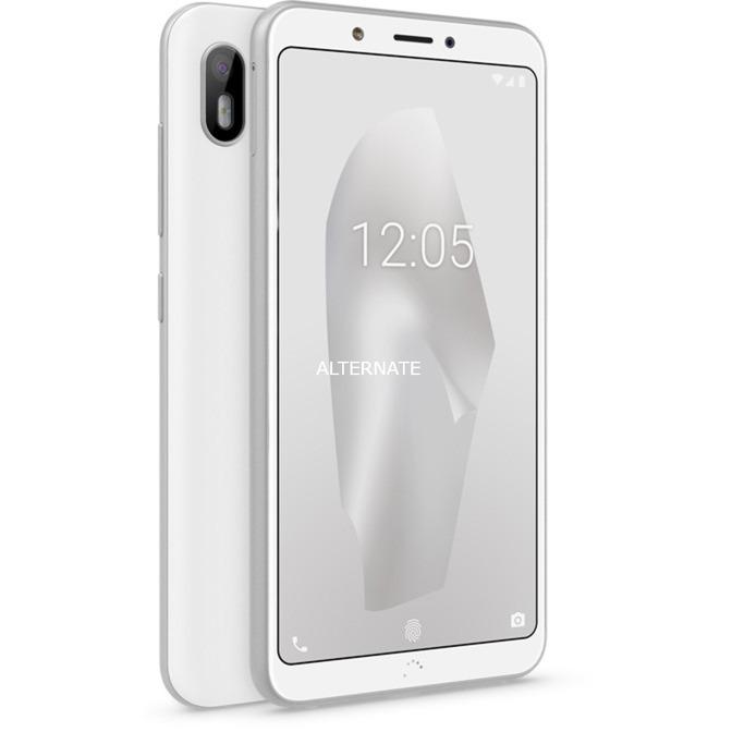 """Aquaris C 13,8 cm (5.45"""") 2 GB 16 GB SIM doble 4G Plata, Blanco 3000 mAh, Móvil"""