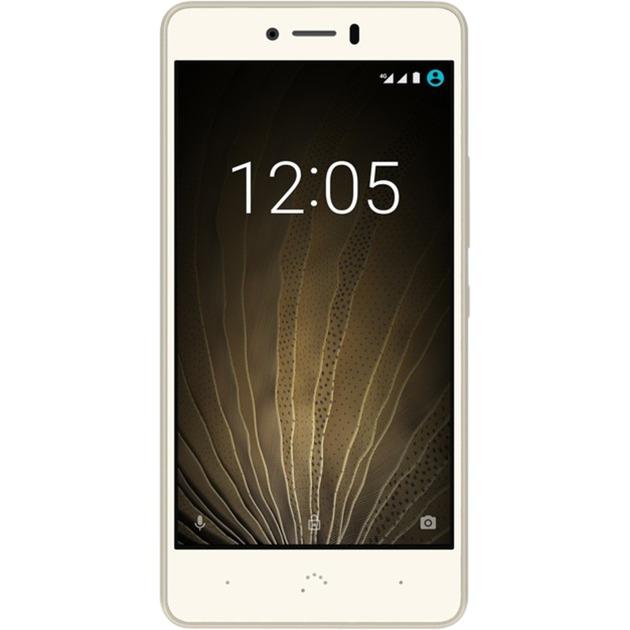Aquaris U Lite SIM doble 4G 16GB Oro, Color blanco, Móvil