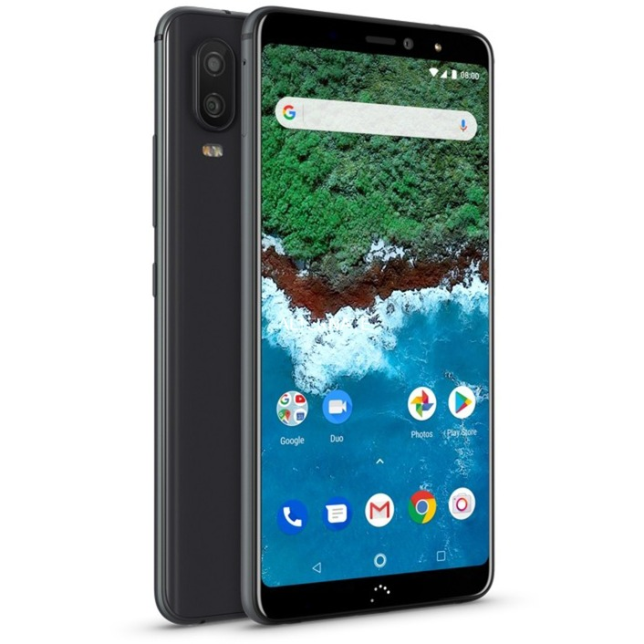 "Aquaris X2 Pro 5.65"" SIM doble 4G 4GB 64GB 3100mAh Negro, Móvil"