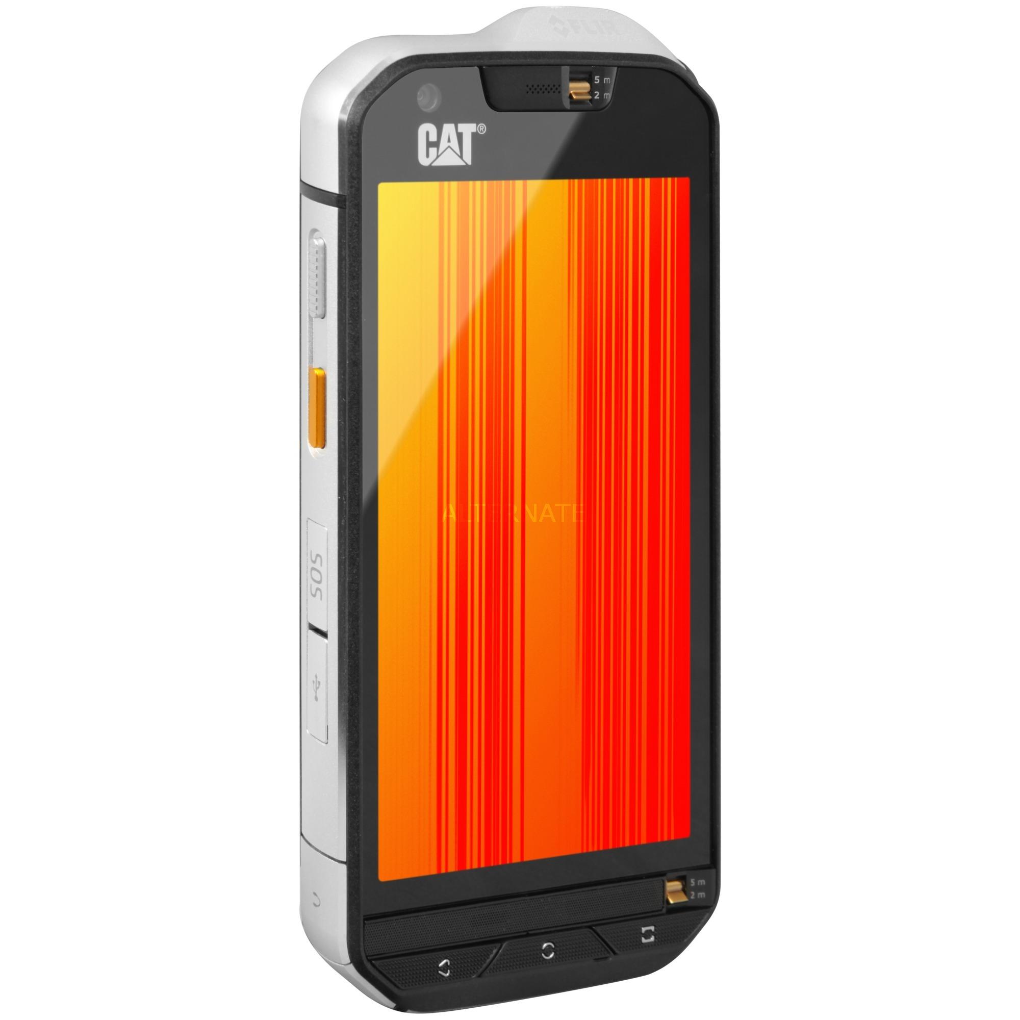 "S60 11,9 cm (4.7"") 3 GB 32 GB SIM doble 4G Negro, Plata 3800 mAh, Móvil"