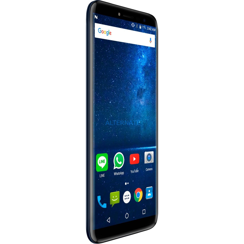 "X18 14,5 cm (5.7"") 3 GB 32 GB SIM doble 4G Negro, Azul 3200 mAh, Móvil"