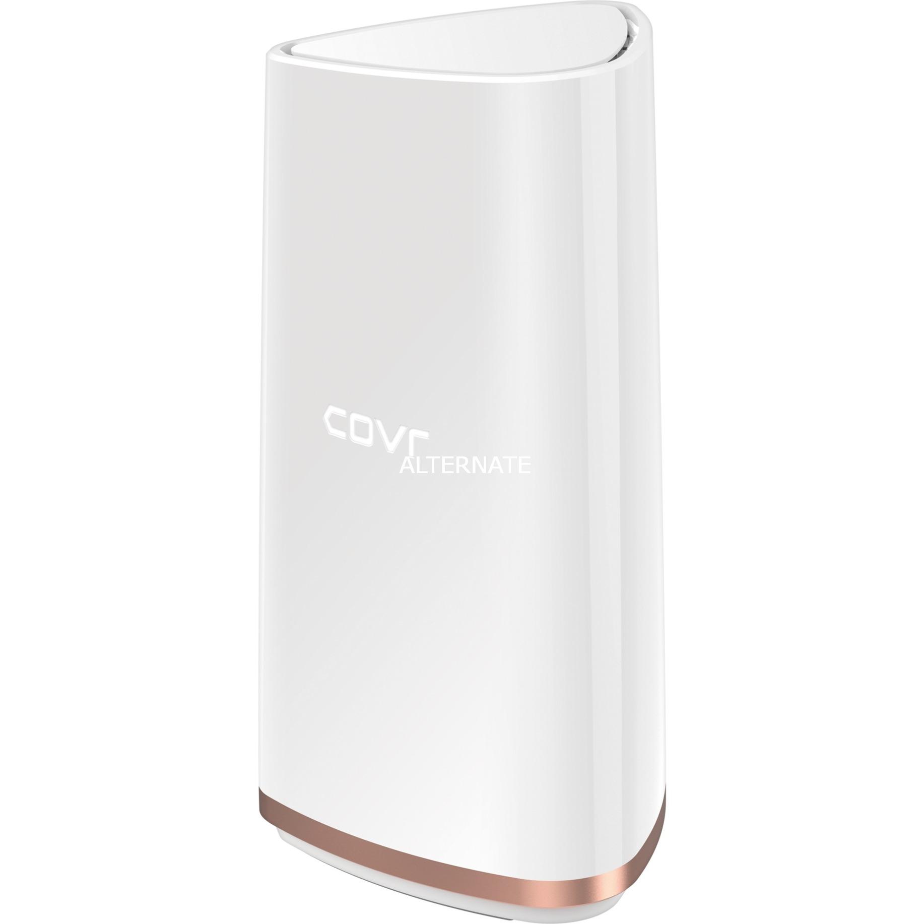 AC2202 punto de acceso WLAN 1000 Mbit/s Oro, Blanco, Enrutador de malla