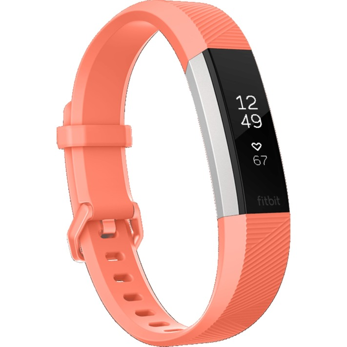 Alta HR Wristband activity tracker Coral, Acero inoxidable OLED Inalámbrico y alámbrico, Fitnesstracker