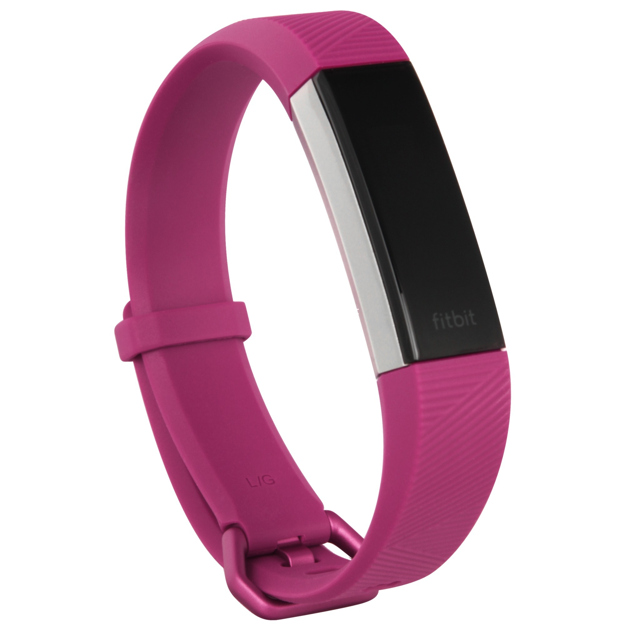 Alta HR Wristband activity tracker Fucsia, Acero inoxidable OLED Inalámbrico, Fitnesstracker