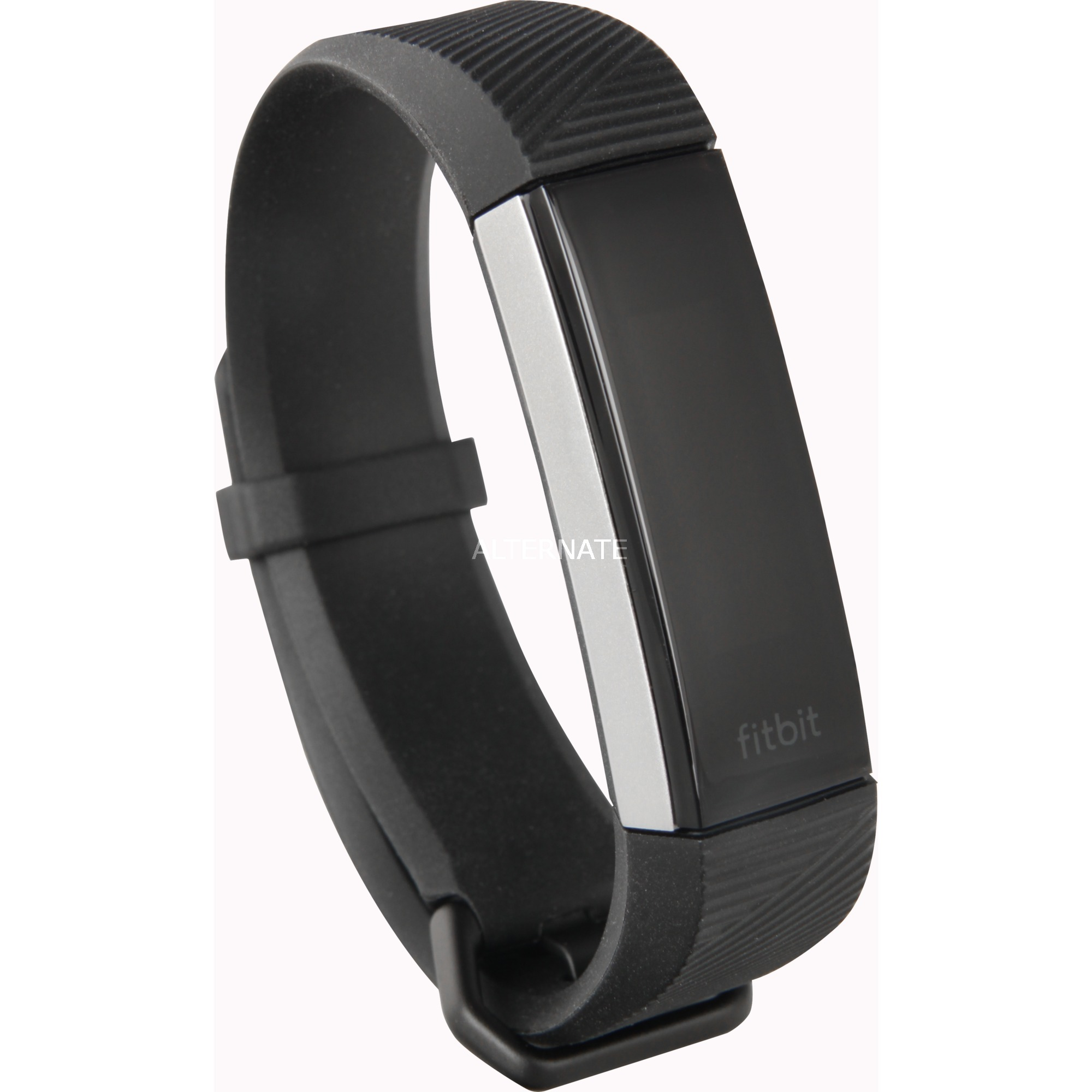 Alta HR Wristband activity tracker OLED Alámbrico/Inalámbrico Negro, Acero inoxidable, Fitnesstracker