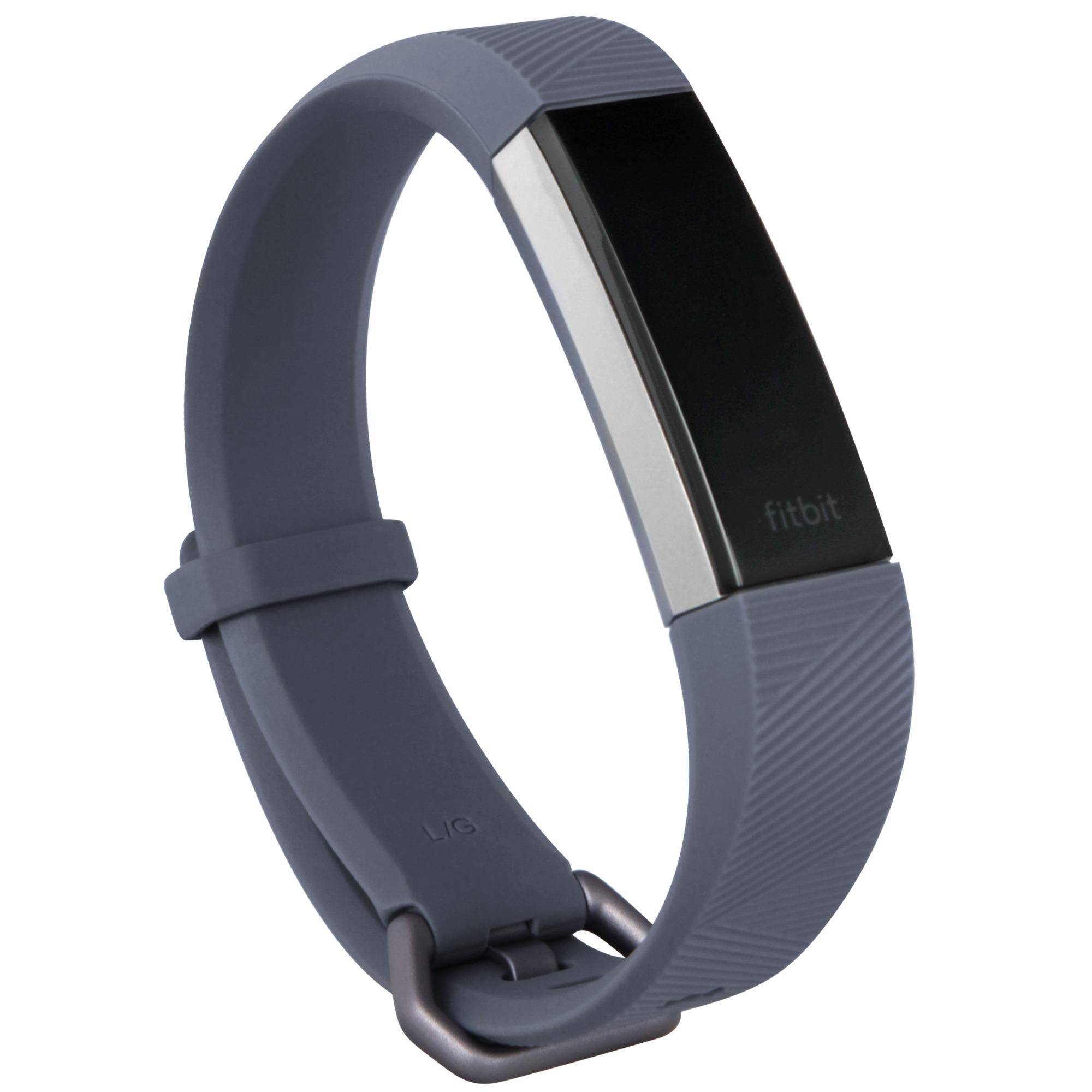 Alta HR Wristband activity tracker OLED Inalámbrico Gris, Control de actividad