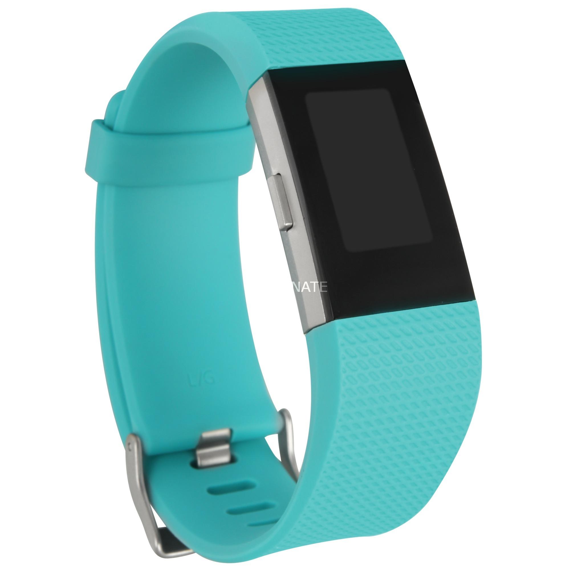 Charge 2 Wristband activity tracker OLED Inalámbrico Negro, Azul, SmartWatch