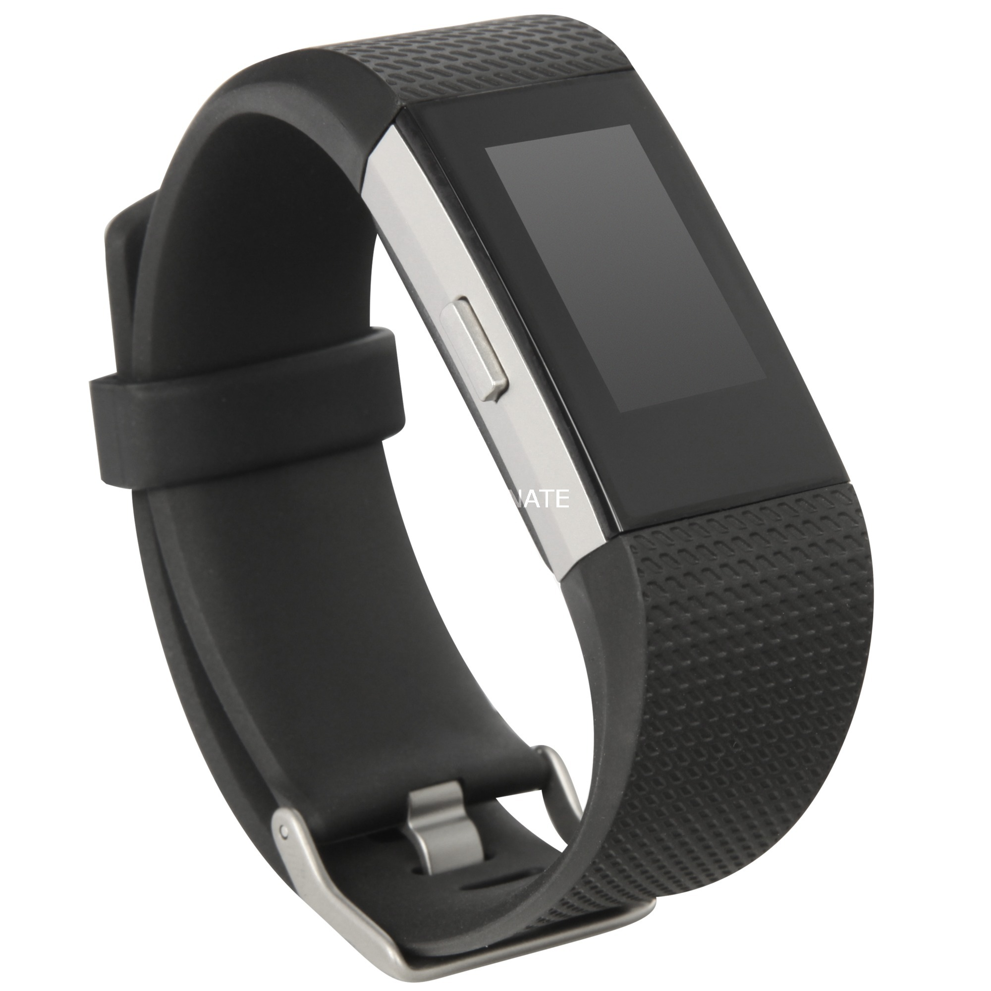 Charge 2 Wristband activity tracker OLED Inalámbrico Negro, Plata, Fitnesstracker