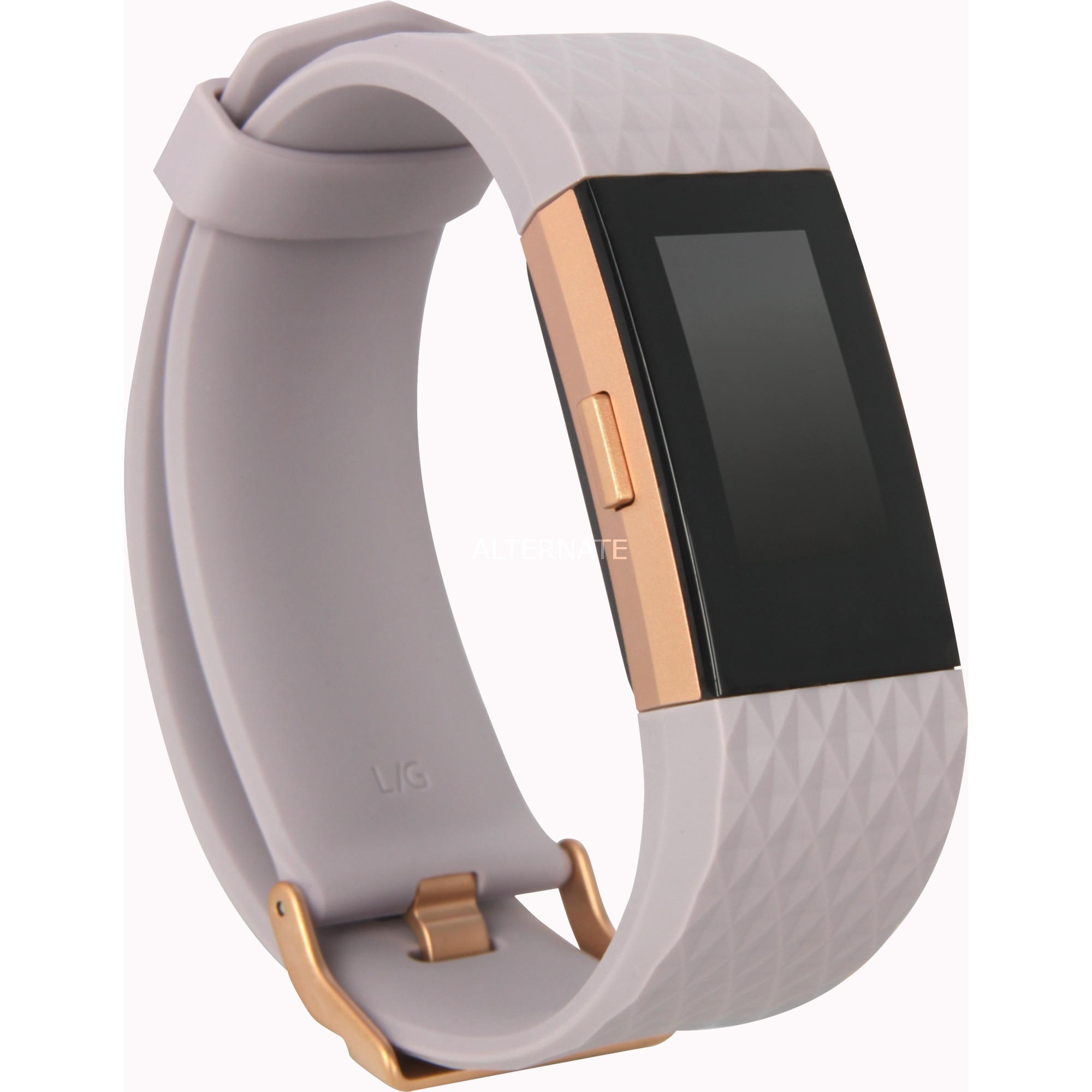 Charge 2 Wristband activity tracker OLED Inalámbrico Oro, Lavanda, SmartWatch