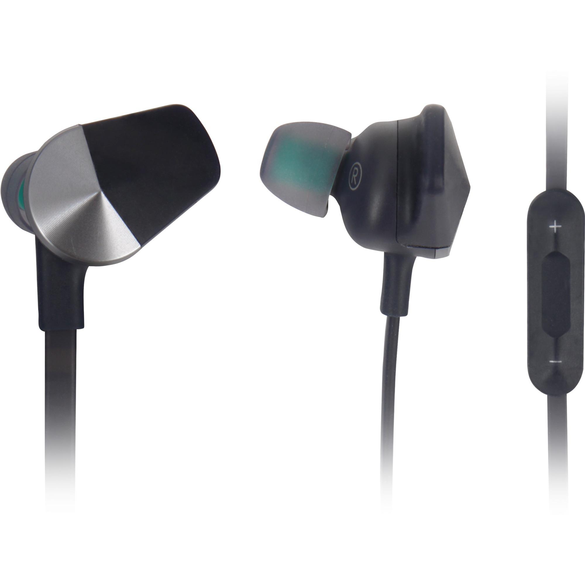 Flyer auriculares para móvil Binaural Dentro de oído Azul, Gris