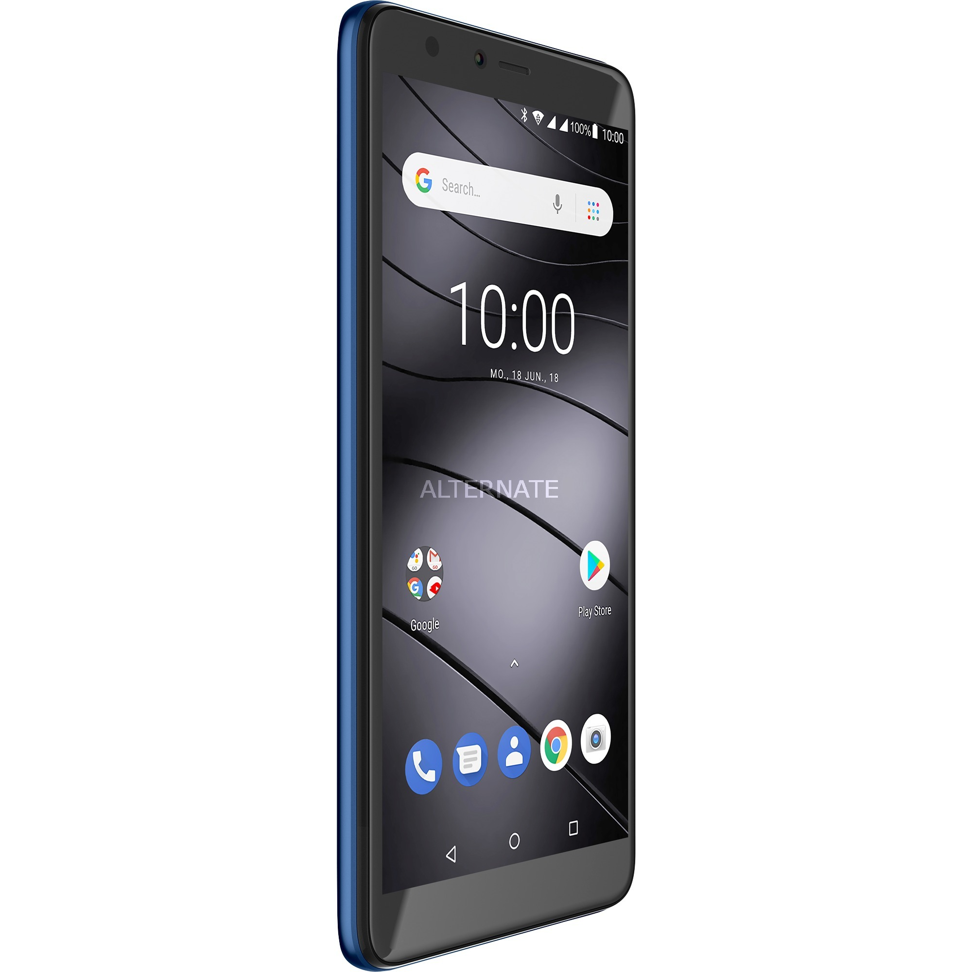 "GS100 14 cm (5.5"") 1 GB 8 GB SIM doble 4G Azul 3000 mAh, Móvil"