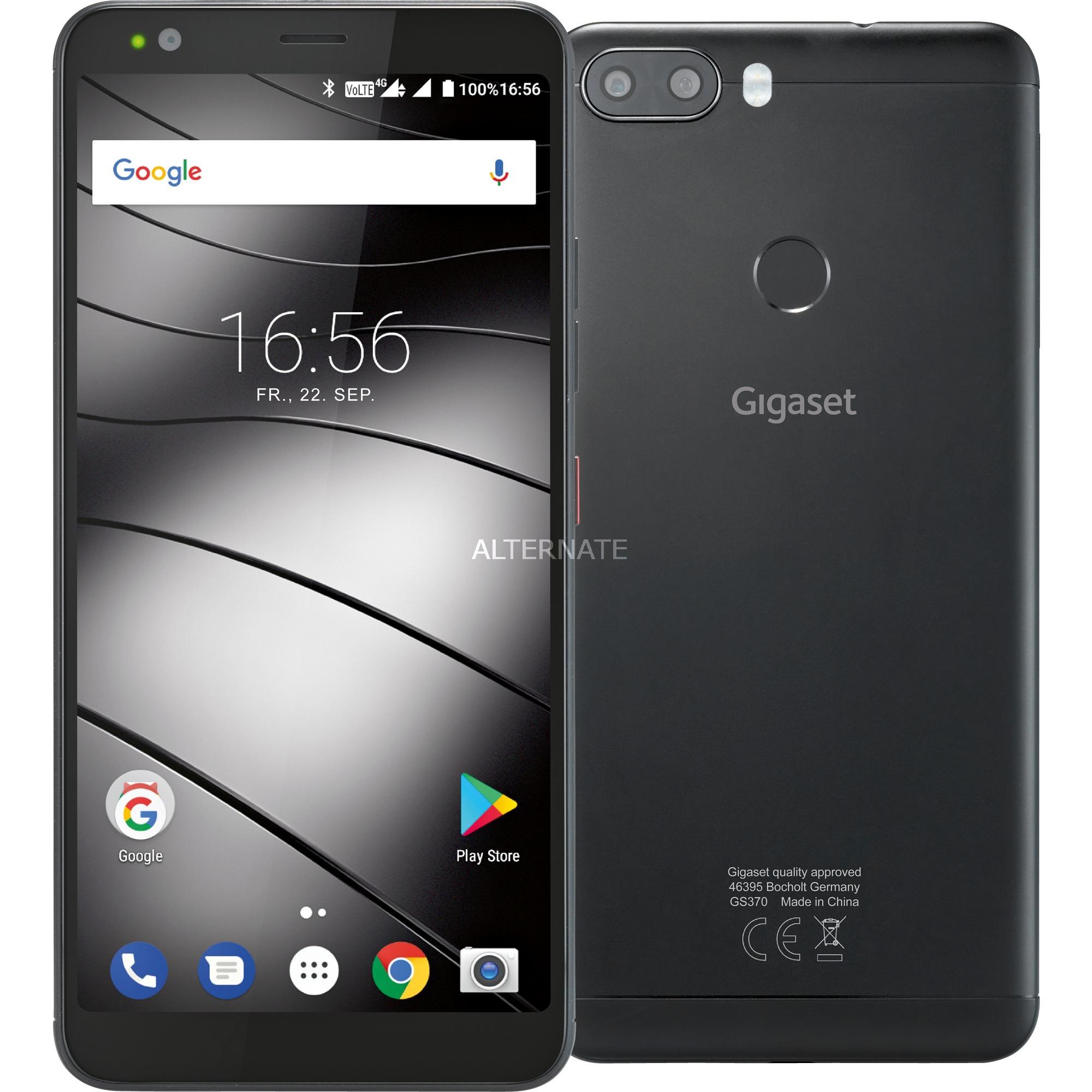 "GS370 plus 5.7"" Ranura híbrida Dual SIM 4G 4GB 64GB 3000mAh Negro, Móvil"