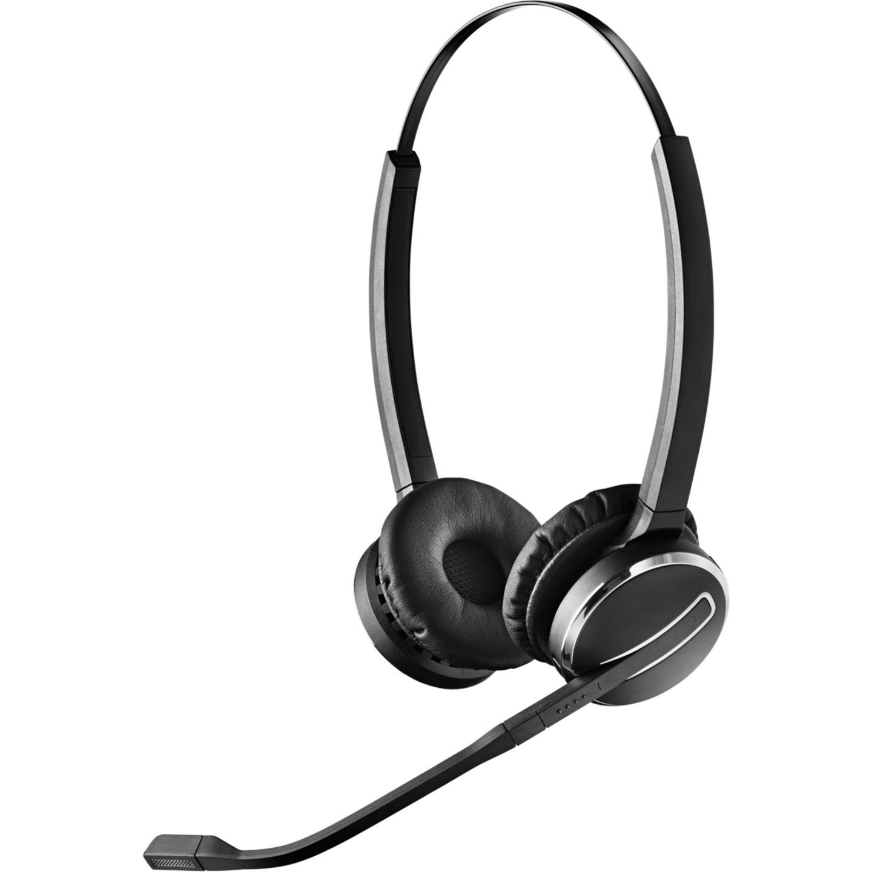 Pro 9400 Replacement Binaural Diadema Negro, Auriculares con micrófono