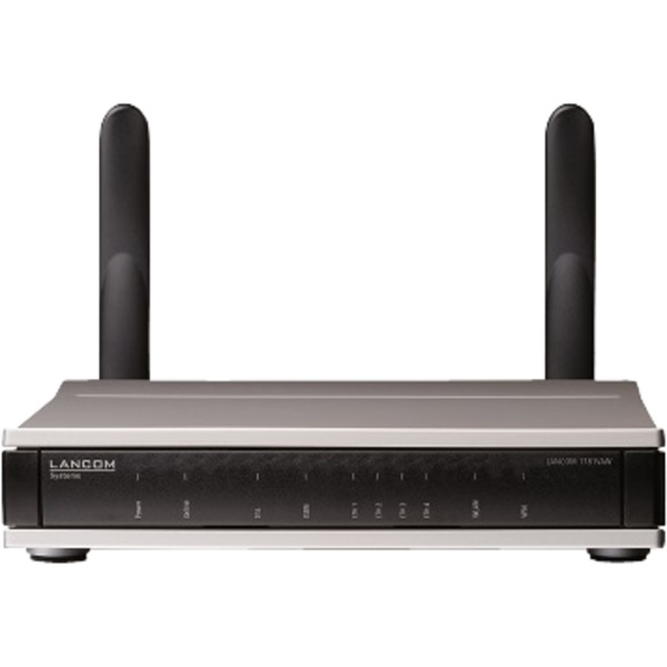1781VAW Doble banda (2,4 GHz / 5 GHz) Gigabit Ethernet 3G Negro router inalámbrico