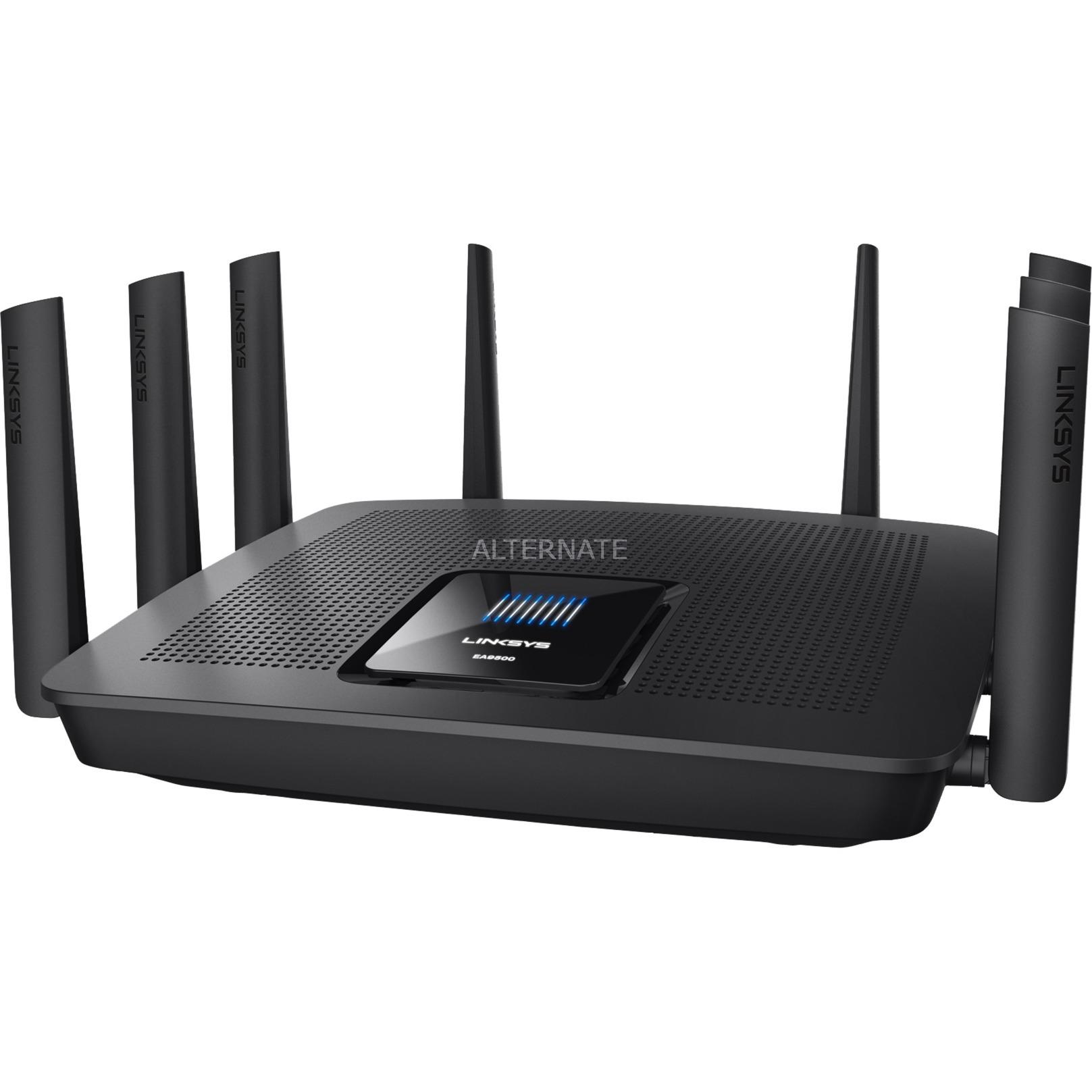 AC5400 Tribanda (2,4 GHz/5 GHz/5 GHz) Gigabit Ethernet Negro router inalámbrico