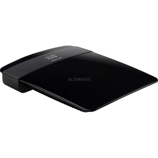 E1200 Ethernet rápido Negro router inalámbrico