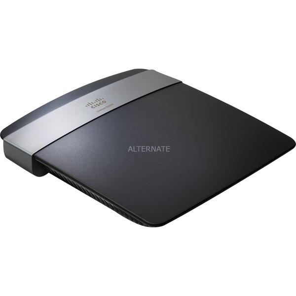 E2500 router inalámbrico Ethernet rápido Negro