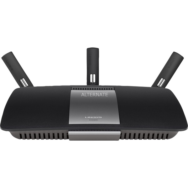 EA6900 router inalámbrico Doble banda (2,4 GHz / 5 GHz) Gigabit Ethernet Negro