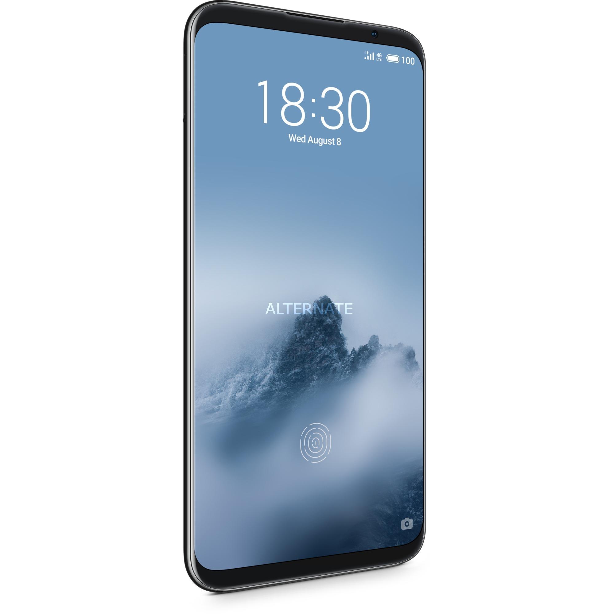 "16th 15,2 cm (6"") 6 GB 64 GB SIM doble 4G Negro 3010 mAh, Móvil"