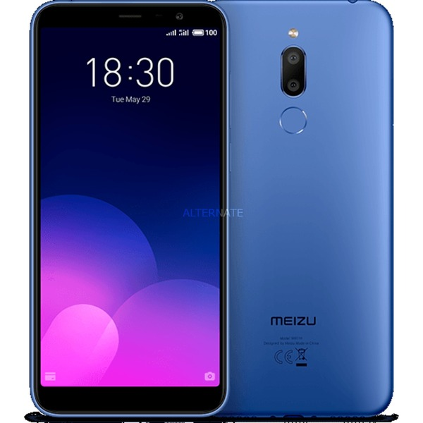"M6T 14,5 cm (5.7"") 3 GB 32 GB SIM doble 4G Azul 3300 mAh, Móvil"