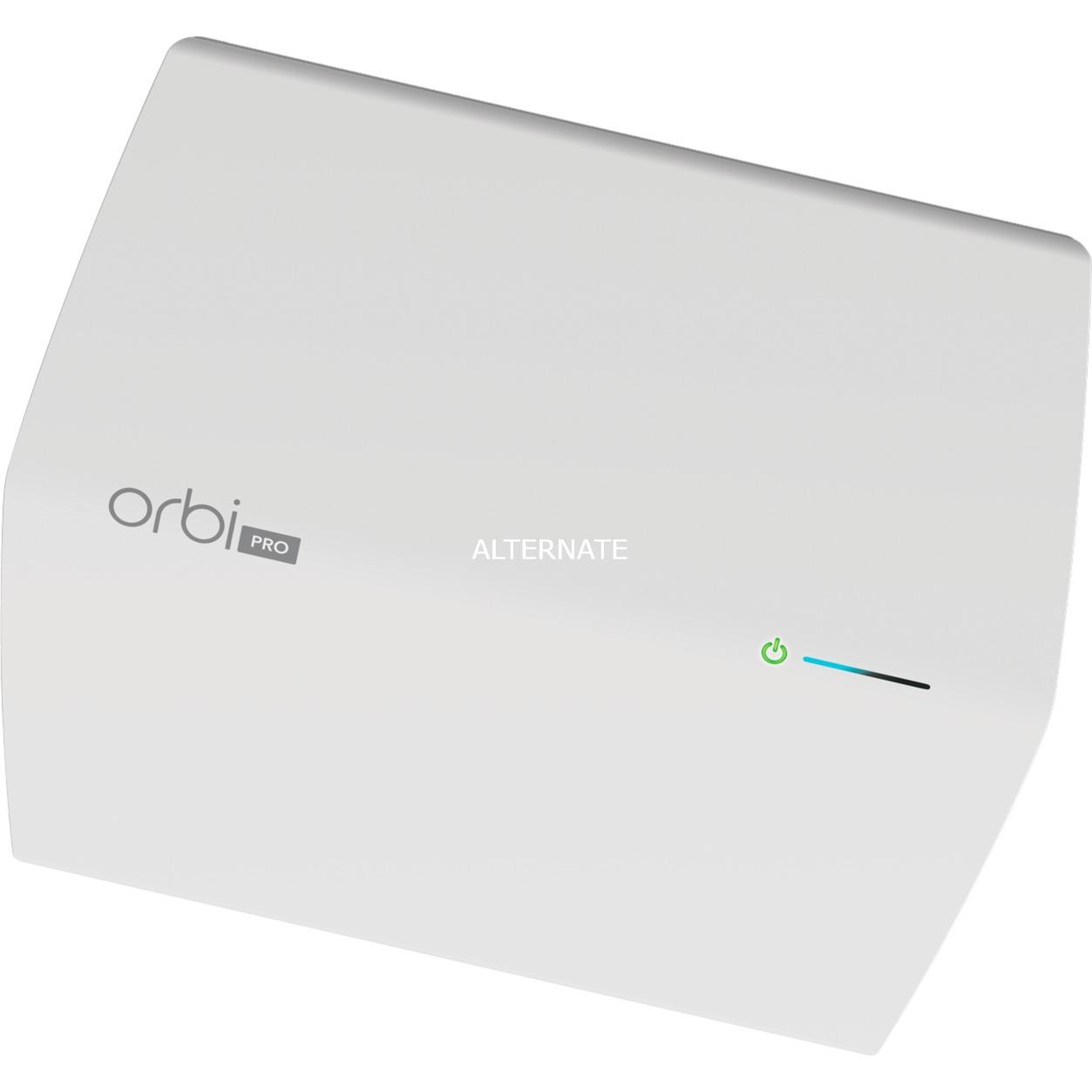 Add-on Orbi Pro Satellite 3000 Mbit/s Repetidor de red Blanco, Punto de acceso de malla