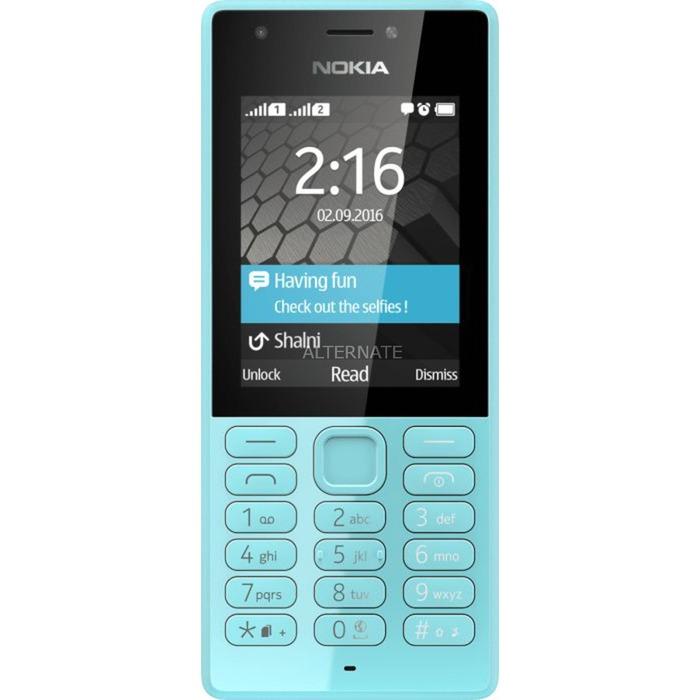 "216 Dual-SIM 2.4"" 82.6g Azul Característica del teléfono, Móvil"