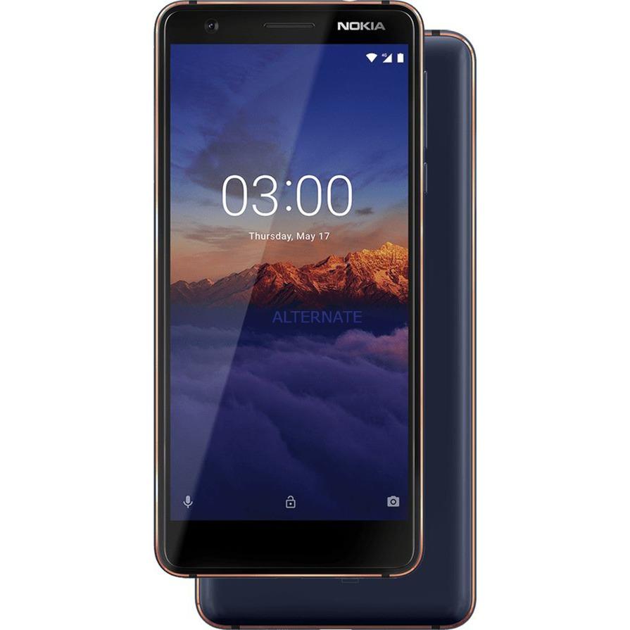 """3.1 13,2 cm (5.2"""") 2 GB 16 GB 4G Azul, Cobre 2990 mAh, Móvil"""
