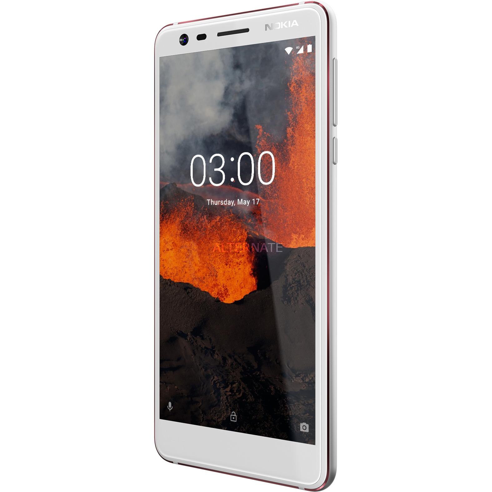 """3.1 13,2 cm (5.2"""") 2 GB 16 GB SIM doble 4G Blanco 2990 mAh, Móvil"""