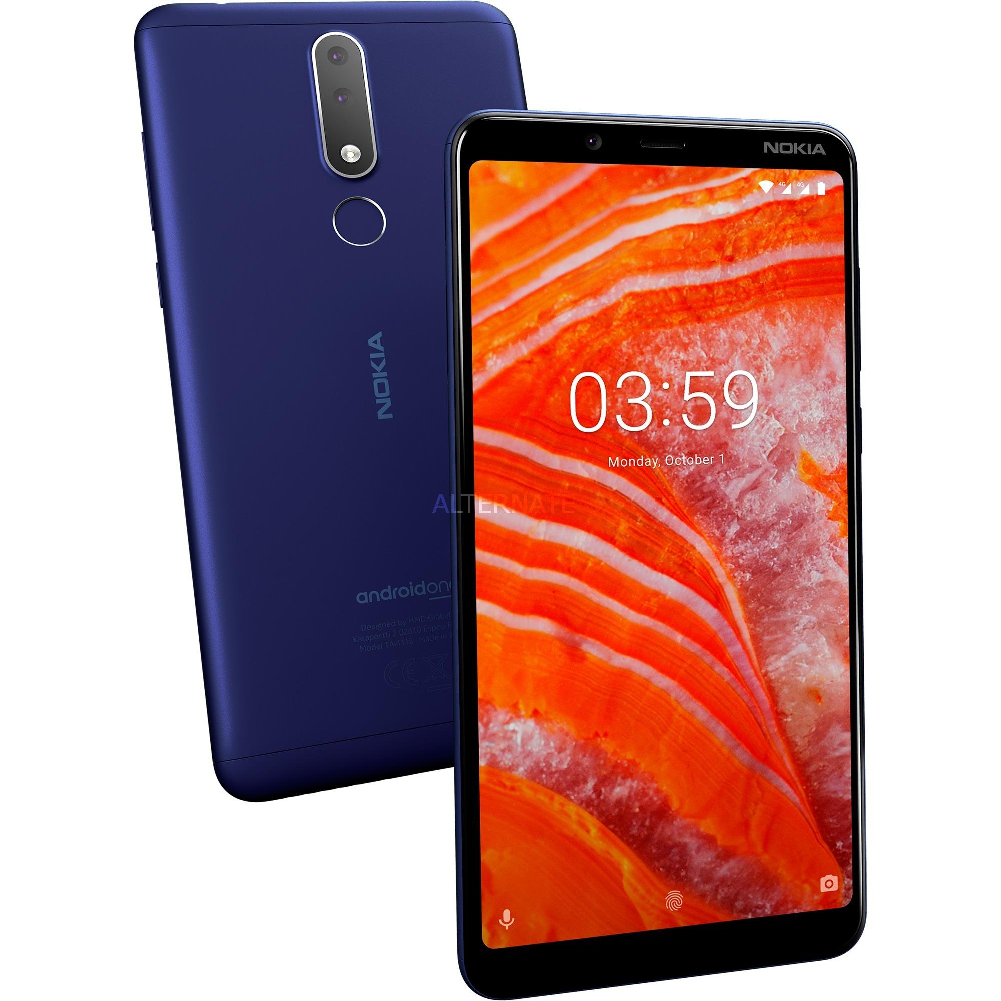"3.1 Plus 15,2 cm (6"") 2 GB 16 GB SIM doble 4G Azul 3500 mAh, Móvil"