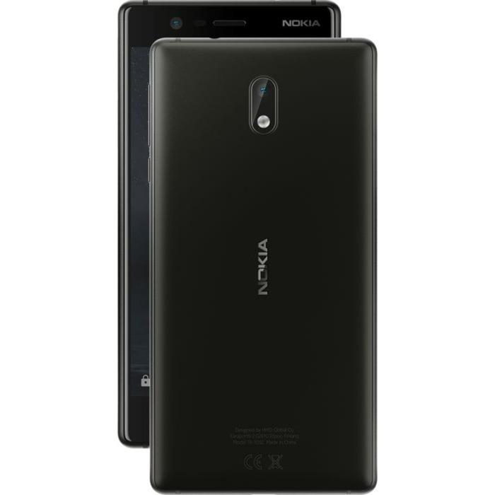 3 SIM doble 4G 16GB Negro, Móvil