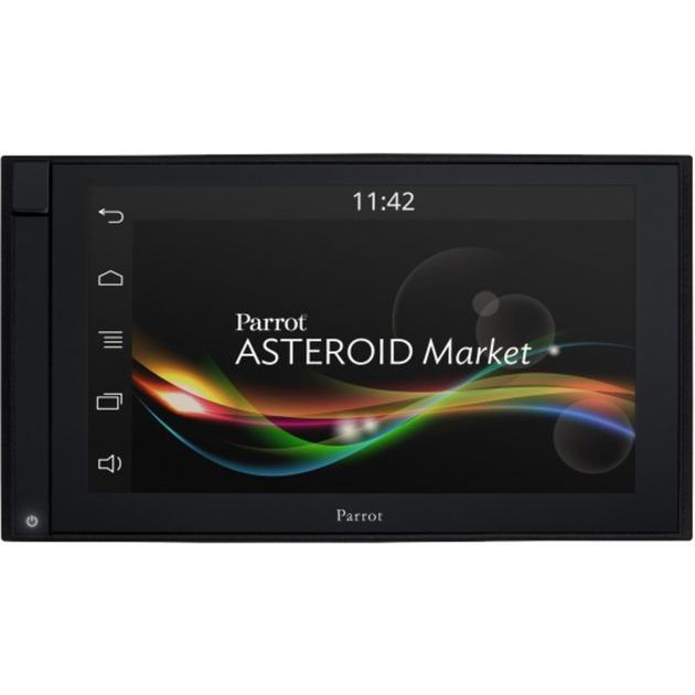 """ASTEROID Smart Fijo 6.2"""" Pantalla táctil Negro navegador, Sistema de navegación"""
