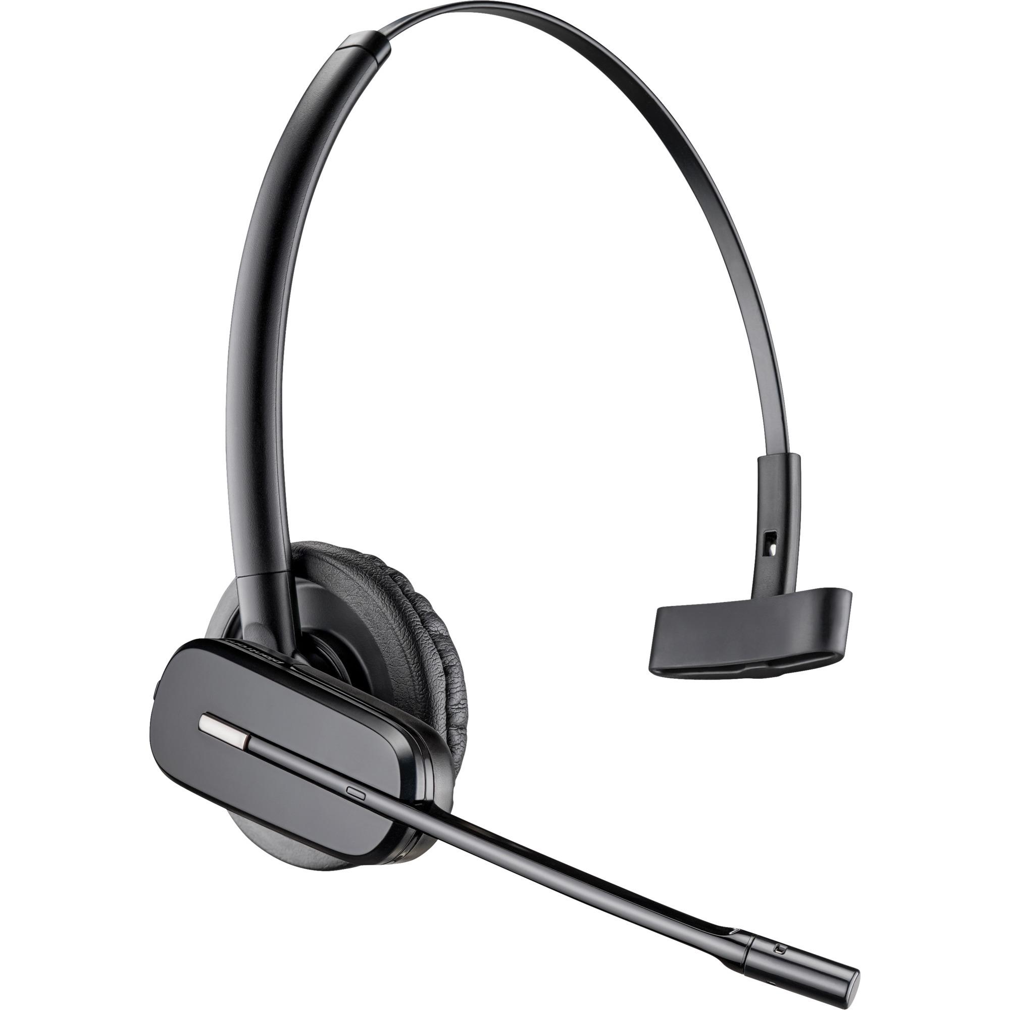 C565 auriculares para móvil Monoaural gancho de oreja, Diadema Negro Inalámbrico, Auriculares con micrófono