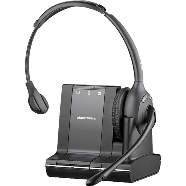 Savi W710 Monoaural Diadema Negro auricular con micrófono, Auriculares con micrófono