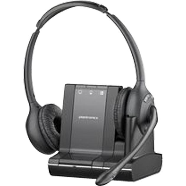Savi W720 Binaurale Diadema Negro auricular con micrófono, Auriculares con micrófono