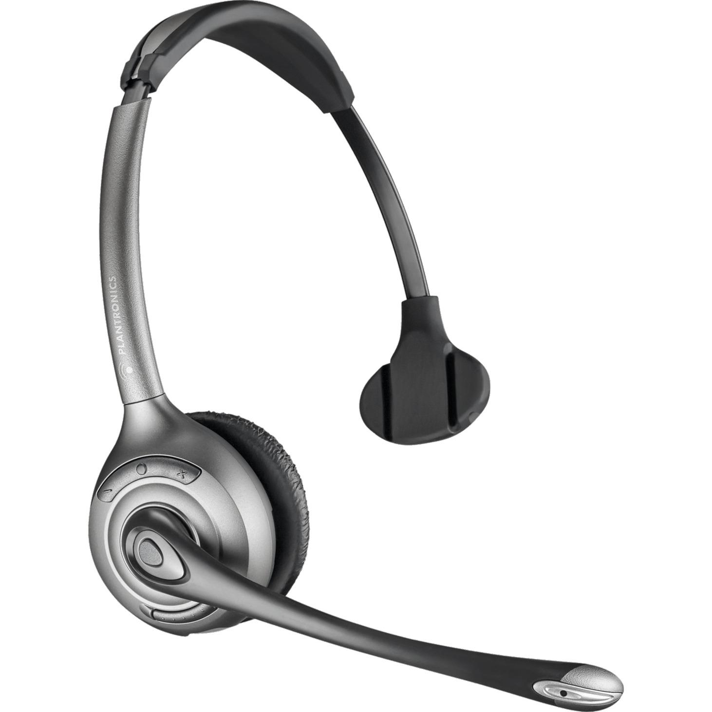 WH300/A Savi OTH Dect Monoaural Diadema Negro auricular con micrófono, Auriculares con...