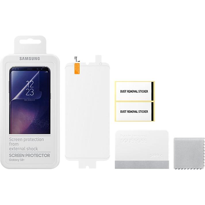 ET-FG955CTEGWW Clear screen protector ET-FG955 Galaxy S8+ 2pieza(s) protector de pantalla, Película...