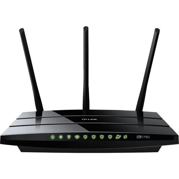 Archer C7 router inalámbrico Doble banda (2,4 GHz / 5 GHz) Gigabit Ethernet Negro